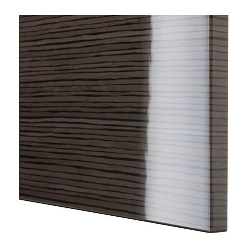 SELSVIKEN - door, patterned high gloss brown | IKEA Hong Kong and Macau - PE535771_S4