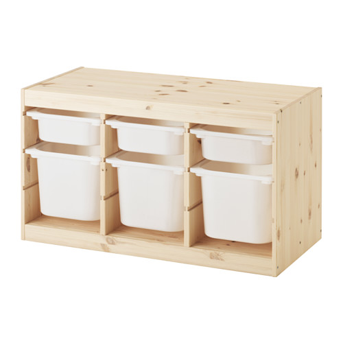 TROFAST - storage combination with boxes, light white stained pine/white   IKEA Hong Kong and Macau - PE547497_S4