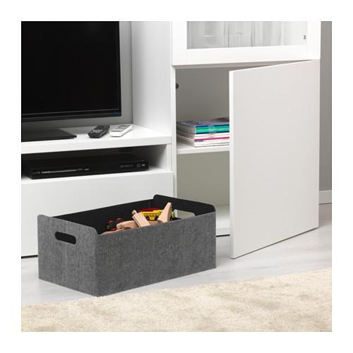 BESTÅ - 貯物箱, 灰色 | IKEA 香港及澳門 - PE536241_S4