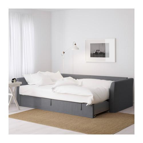 HOLMSUND - corner sofa-bed with storage, nordvalla medium grey   IKEA Hong Kong and Macau - PE600204_S4