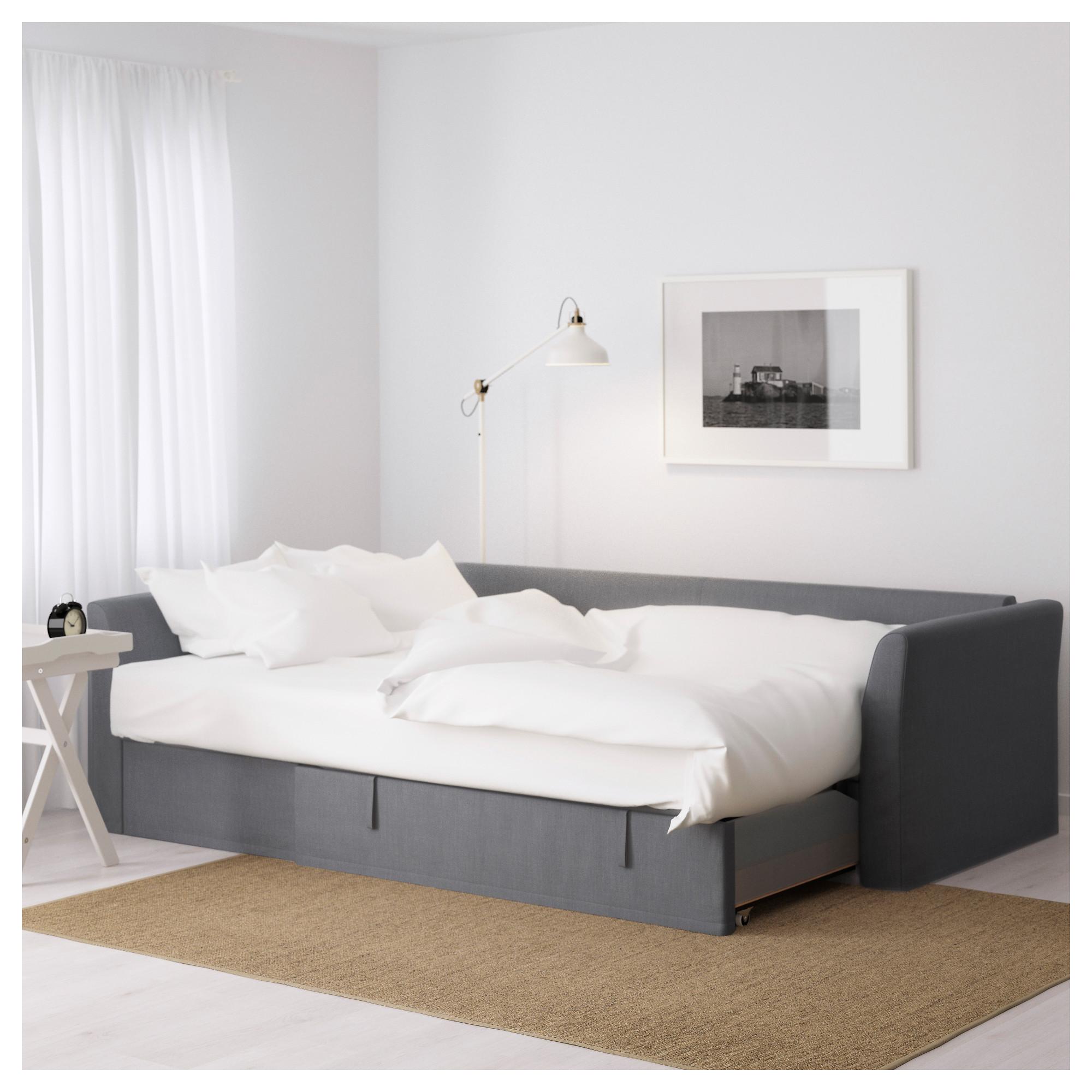 Peachy Holmsund Corner Sofa Bed Nordvalla Medium Grey Ikea Uwap Interior Chair Design Uwaporg
