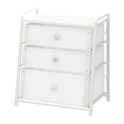 LOTE - chest of 3 drawers, white | IKEA Hong Kong and Macau - PE706785_S3