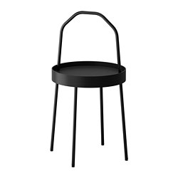 BURVIK - side table, black | IKEA Hong Kong and Macau - PE658472_S3