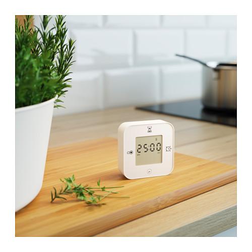 KLOCKIS - clock/thermometer/alarm/timer, white | IKEA Hong Kong and Macau - PE600366_S4