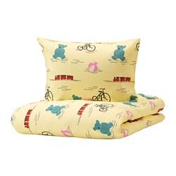 KÄPPHÄST - quilt cover and pillowcase, toys yellow | IKEA Hong Kong and Macau - PE747013_S3