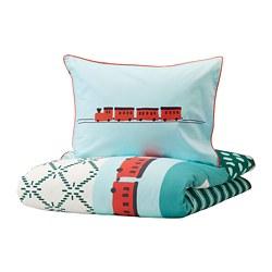 KÄPPHÄST - 被套枕袋套裝, 碎布織法/玩具   IKEA 香港及澳門 - PE746975_S3