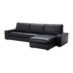 KIVIK - 4-seat sofa, with chaise longue/Grann/Bomstad black | IKEA Hong Kong and Macau - PE309530_S3
