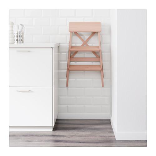 BEKVÄM - stepladder, 3 steps, beech | IKEA Hong Kong and Macau - PE600439_S4