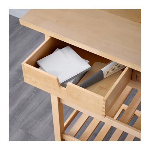 FÖRHÖJA - 廚房活動几, 樺木 | IKEA 香港及澳門 - PE600444_S4