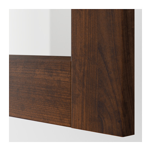 EDSERUM - glass door, wood effect brown | IKEA Hong Kong and Macau - PE600553_S4
