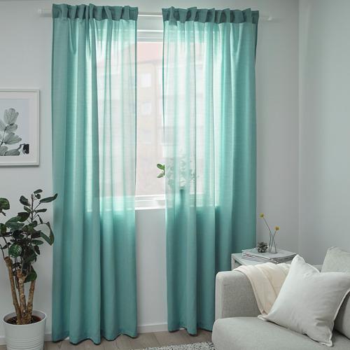HILJA 窗簾,一對