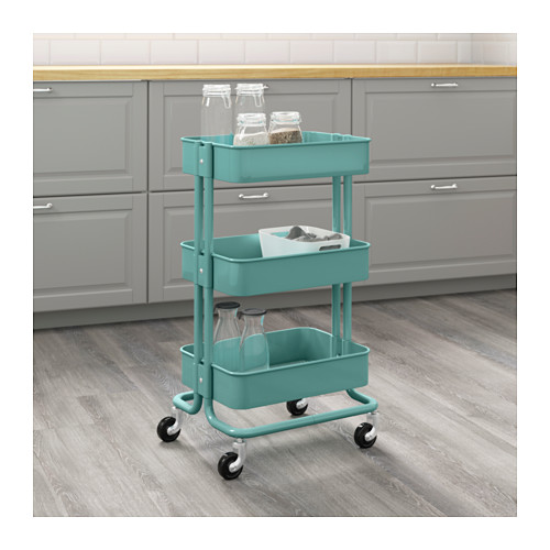 RÅSKOG - trolley, turquoise | IKEA Hong Kong and Macau - PE600618_S4