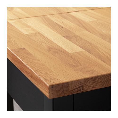 STENSTORP - 廚房活動几, 棕黑色/橡木   IKEA 香港及澳門 - PE600638_S4