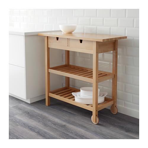 FÖRHÖJA - 廚房活動几, 樺木 | IKEA 香港及澳門 - PE600658_S4