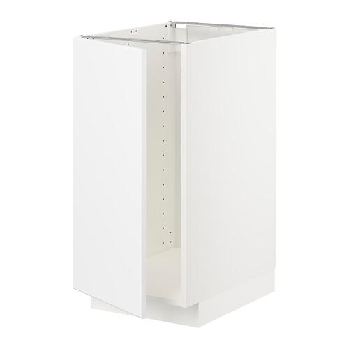 METOD - base cab f sink/waste sorting, white/Kungsbacka matt white | IKEA Hong Kong and Macau - PE707038_S4