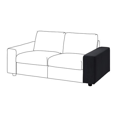VIMLE - 扶手, 有寬闊扶手/Saxemara 藍黑色 | IKEA 香港及澳門 - PE801323_S4