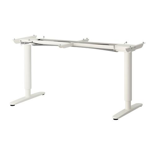 BEKANT underframe sit/stand f table tp, el