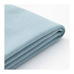 HOLMSUND - three-seat sofa-bed cover, Orrsta light blue | IKEA Hong Kong and Macau - PE658725_S3