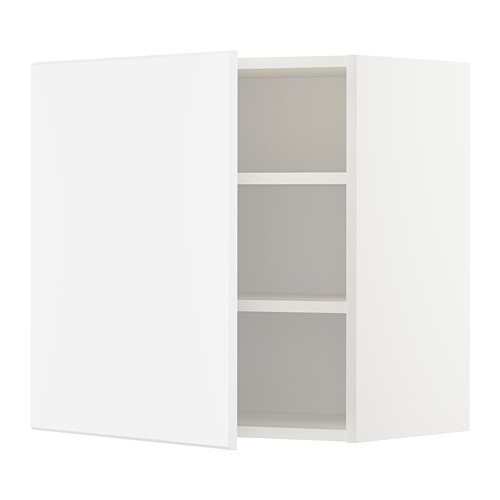METOD - wall cabinet with shelves, white/Kungsbacka matt white | IKEA Hong Kong and Macau - PE707049_S4