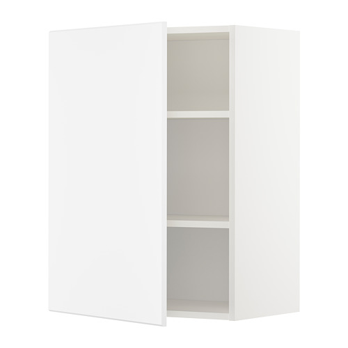 METOD wall cabinet with shelves