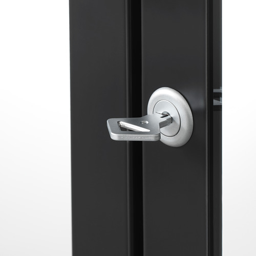 MILSBO - 玻璃門貯物櫃, 炭黑色 | IKEA 香港及澳門 - PE704500_S4