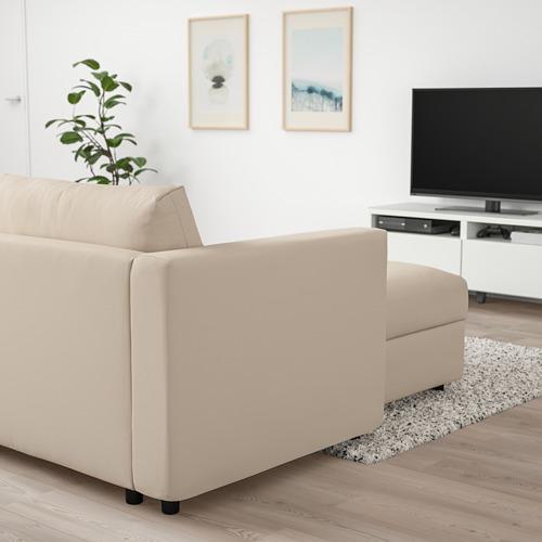 VIMLE - 躺椅, Hallarp 米黃色 | IKEA 香港及澳門 - PE801357_S4