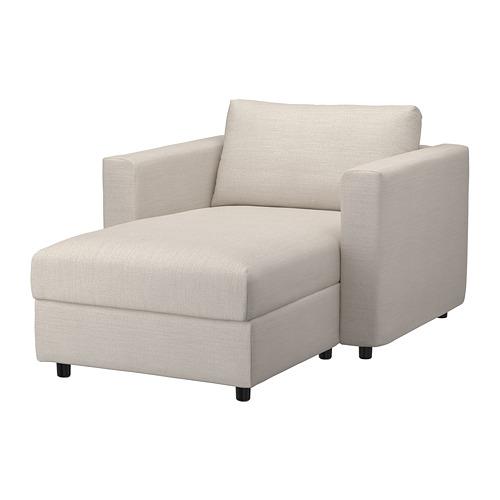 VIMLE - chaise longue, Gunnared beige   IKEA Hong Kong and Macau - PE801343_S4