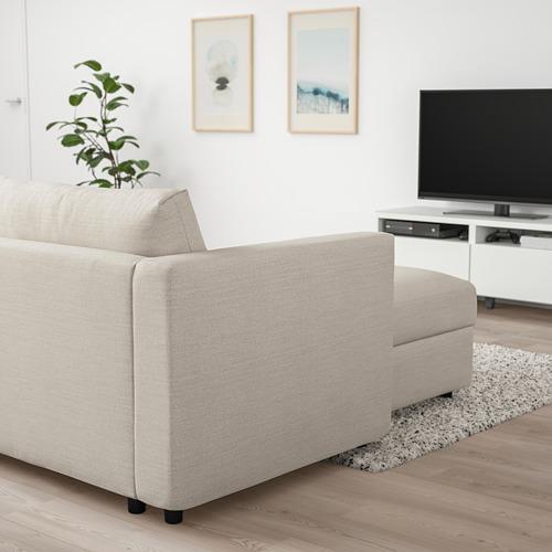 VIMLE - chaise longue, Gunnared beige   IKEA Hong Kong and Macau - PE801344_S4