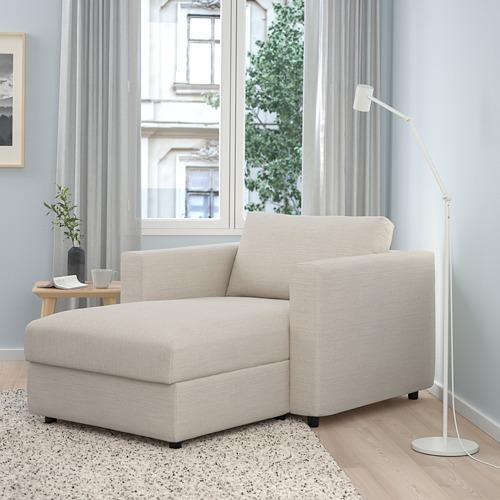 VIMLE - chaise longue, Gunnared beige   IKEA Hong Kong and Macau - PE801345_S4