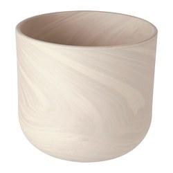 BACKSMULTRON - 花盆, 室內/戶外用 米黃色/灰色 | IKEA 香港及澳門 - PE804322_S3