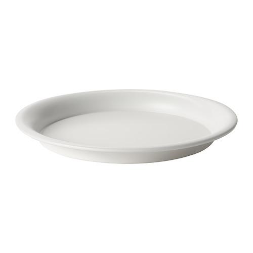 BIKARBONAT - 花盆底碟, 室內/戶外用 白色   IKEA 香港及澳門 - PE804328_S4