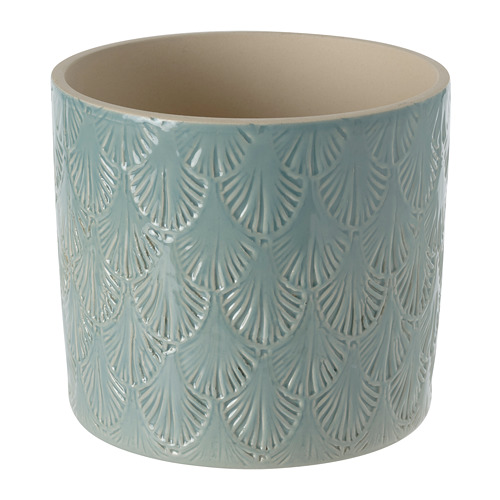 CHIAFRÖN - plant pot, in/outdoor light blue | IKEA Hong Kong and Macau - PE804348_S4