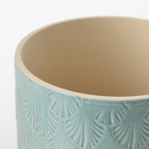 CHIAFRÖN - plant pot, in/outdoor light blue | IKEA Hong Kong and Macau - PE804350_S4