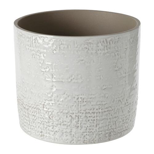 CHIAFRÖN - 花盆, 室內/戶外用 白色   IKEA 香港及澳門 - PE804354_S4