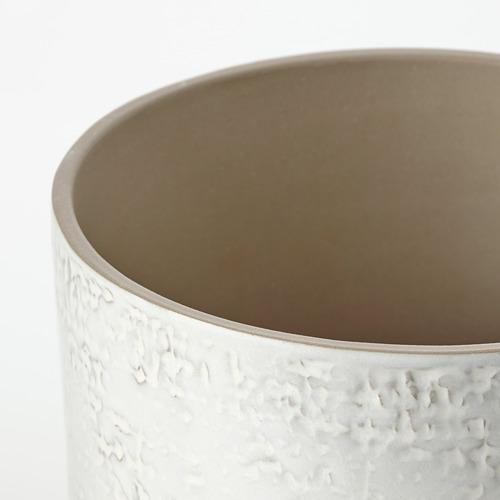 CHIAFRÖN - 花盆, 室內/戶外用 白色   IKEA 香港及澳門 - PE804356_S4