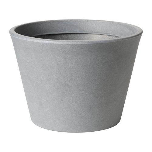 CITRUSKRYDDA - 花盆, 室內/戶外用 灰色   IKEA 香港及澳門 - PE804369_S4