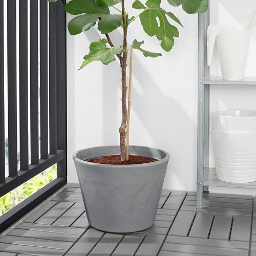 CITRUSKRYDDA - 花盆, 室內/戶外用 灰色   IKEA 香港及澳門 - PE804370_S4