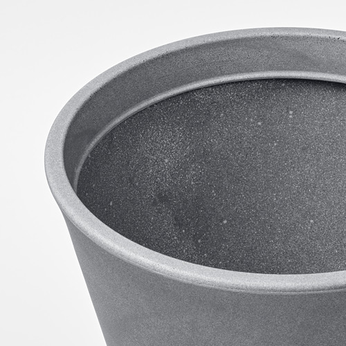 CITRUSKRYDDA - 花盆, 室內/戶外用 灰色   IKEA 香港及澳門 - PE804371_S4