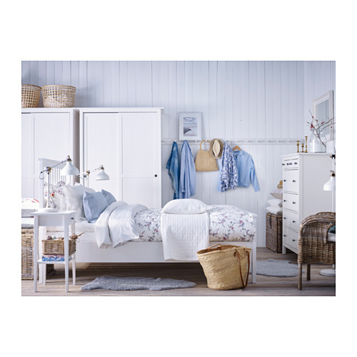 HEMNES - bed frame, white stain | IKEA Hong Kong and Macau - PH133265_S4