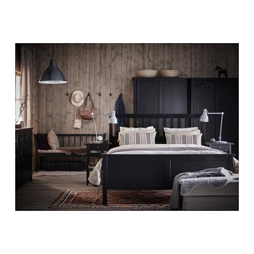 HEMNES - bed frame, black-brown | IKEA Hong Kong and Macau - PH133268_S4
