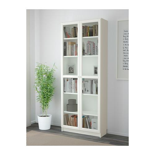 BILLY/OXBERG - bookcase, white | IKEA Hong Kong and Macau - PE600781_S4