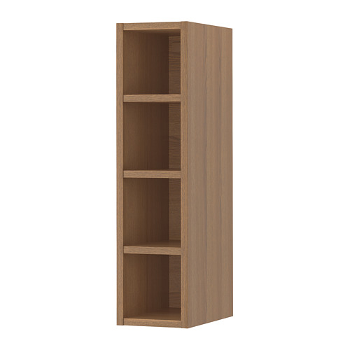 VADHOLMA - open storage, brown/stained ash | IKEA Hong Kong and Macau - PE658802_S4