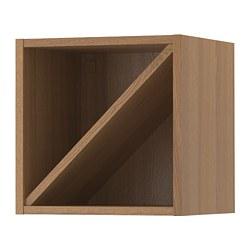 VADHOLMA - wine shelf, brown/stained ash | IKEA Hong Kong and Macau - PE658804_S3