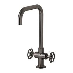 GAMLESJÖN - 雙控廚房冷熱水龍頭, 刷面金屬黑色 | IKEA 香港及澳門 - PE658818_S3