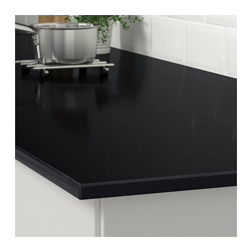 KASKER - custom made worktop, black stone effect/quartz | IKEA Hong Kong and Macau - PE707183_S4