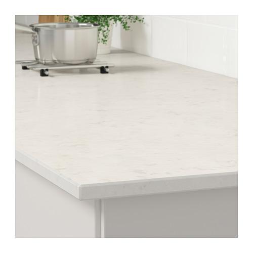 KASKER - custom made worktop, white marble effect/quartz | IKEA Hong Kong and Macau - PE707171_S4