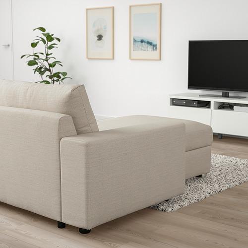 VIMLE - 躺椅, 有寬闊扶手/Gunnared 米黃色 | IKEA 香港及澳門 - PE801380_S4