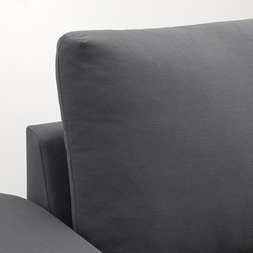 VIMLE - 兩座位梳化, 有寬闊扶手/Hallarp 灰色 | IKEA 香港及澳門 - PE801376_S4