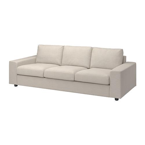 VIMLE - 三座位梳化布套, 有寬闊扶手/Gunnared 米黃色 | IKEA 香港及澳門 - PE801413_S4
