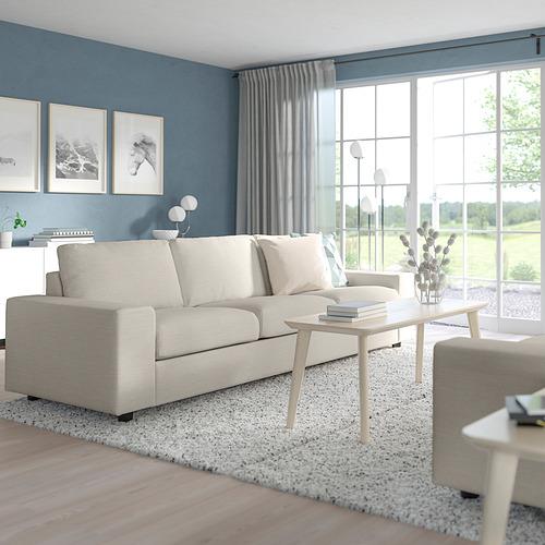 VIMLE - 三座位梳化床, 有寬闊扶手/Gunnared 米黃色   IKEA 香港及澳門 - PE801422_S4
